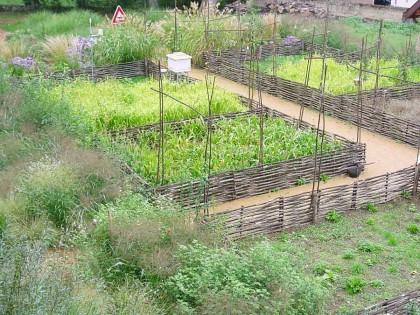 Jardin pédagogique du centre d'éducation à la nature – Cuisery (Saône-et-Loire)