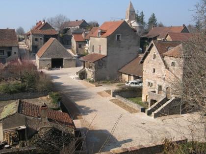 Bourg médiéval de Brançion (Saône-et-Loire)