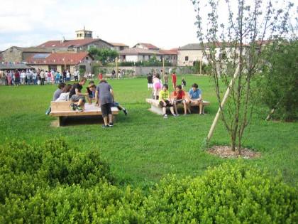 Jardin public Pie X – Taluyers (Rhône)