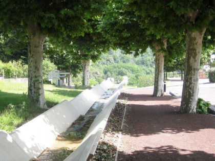 Parc thermal – Neyrac-les-Bains (Ardèche)