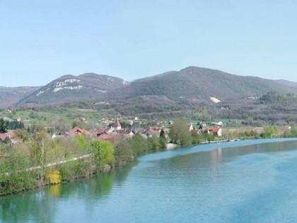 Organisation des pôles urbains de la Boucle du Rhône en Dauphiné et schéma de déplacement modes doux (Isère)