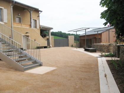 Maison du site classé de Solutré (Saône-et-Loire)