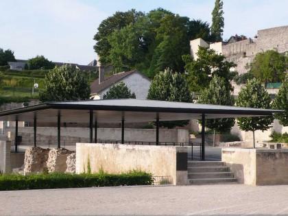 Square des Bénédictins – La Charité-sur-Loire (Nièvre)